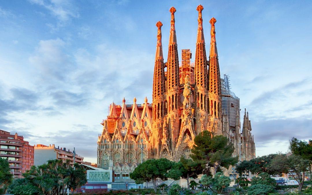 La Sagrada Familia Barcelona Spain 1080x675