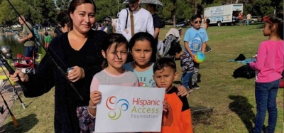 Latino Youth Celebrate Their Hispanic Heritage with Fishing Derby at El Dorado Regional Park