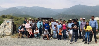 California Latinos Visit North Etiwanda Preserve to Celebrate Public Lands