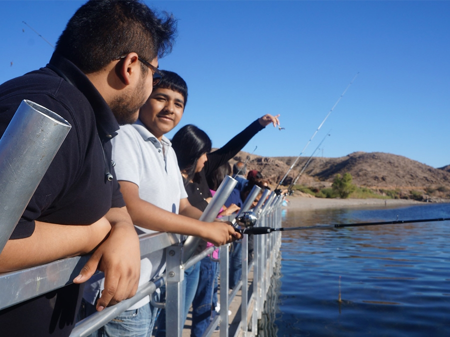 Las Vegas Latinos Get Hands-on Fishing and Stewardship Lessons at Lake Mead
