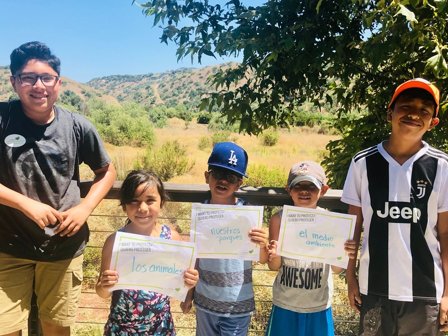 Latino Families Celebrated Latino Conservation Week with Chino Hills Hike